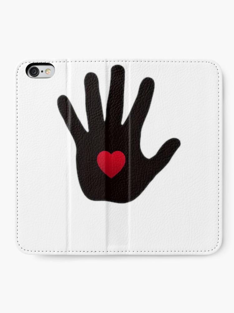 Alternative Ansicht von Gottes Liebe iPhone Flip-Case