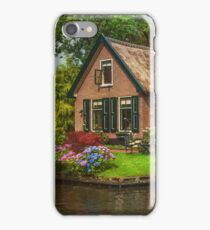 Fairytale House. Giethoorn. Venice of the North iPhone Case/Skin