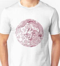 Chinese Art Dragon Unisex T-Shirt