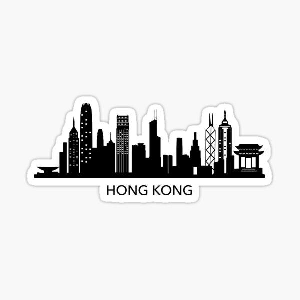 Hong Kong Art Sticker