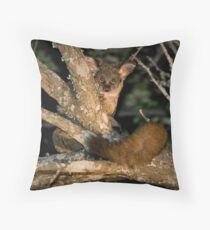 Greater Bushbaby Throw Pillow