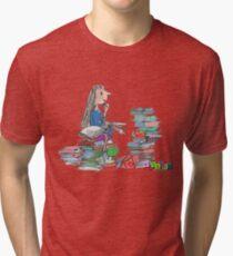 Matilda Wormwood Tri-blend T-Shirt