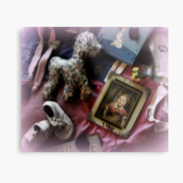 The Little Girl Lost Metal Print