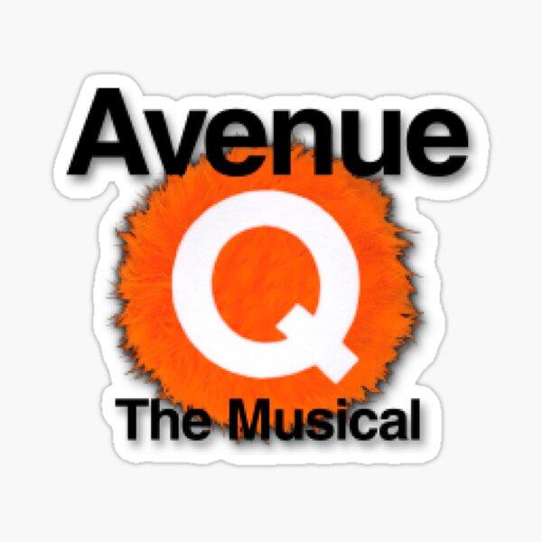 Avenue Q the musical  Sticker