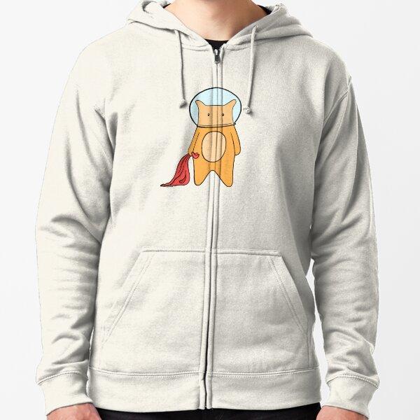 Space Hamster Zipped Hoodie