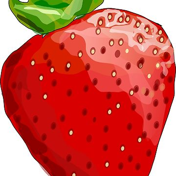 Doodle: Strawberry by HarmonyByDesign