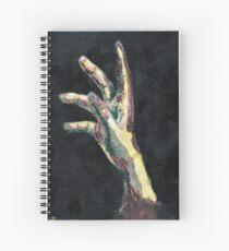 Cuaderno de espiral Alcanzando para qué