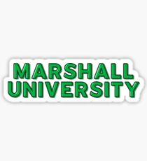 Marshall University - Style 10 Sticker