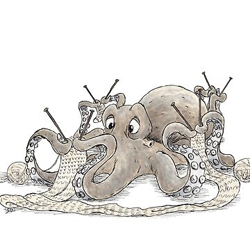 Knitting Octopus by jorion