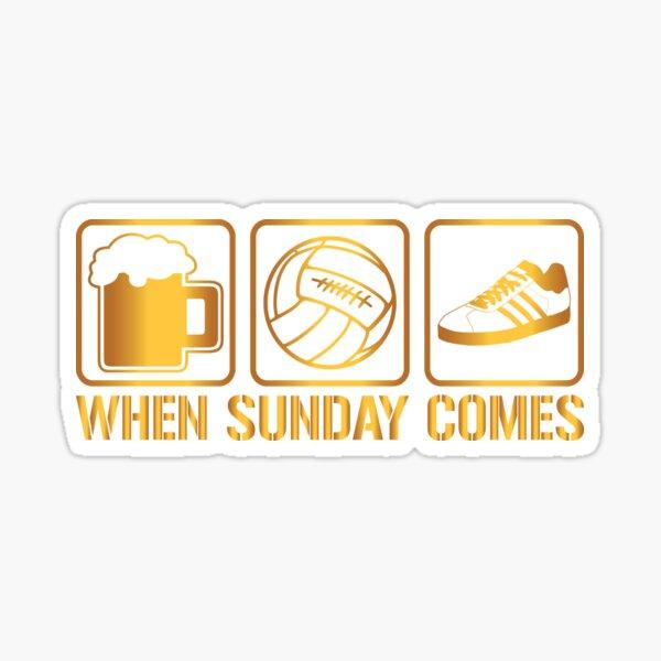 Quand le dimanche arrive Ultras Casuals Sticker