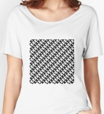 BW Tessellation 6 8 Women's Relaxed Fit T-Shirt