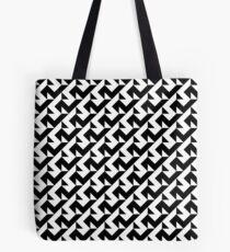 BW Tessellation 6 9 Tote Bag