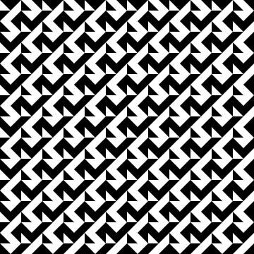 BW Tessellation 6 9 by paddysbooks