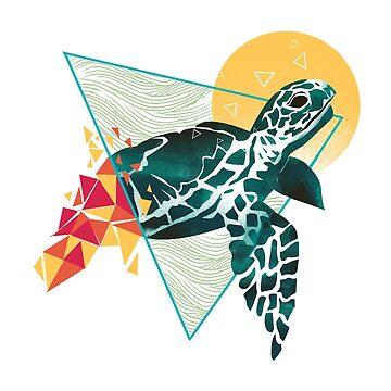 Geometric Turtle by dandingeroz