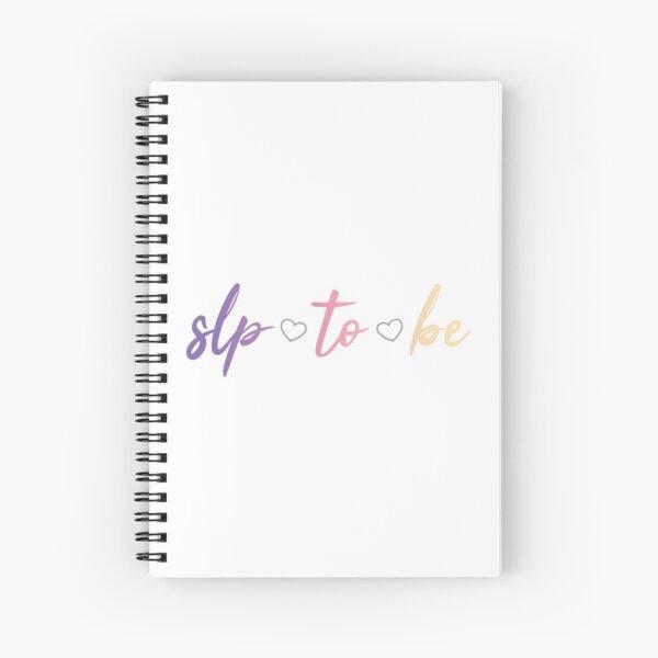 SLP para ser Cuaderno de espiral