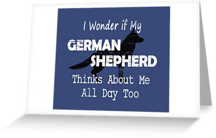 Funny German Shepherd Dog Breed Gifts