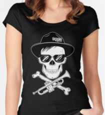 Skull Of Trumpet Women's Fitted Scoop T-Shirt