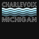 Charlevoix Waves by Megan Noble