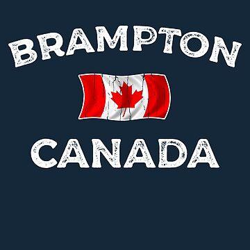 Brampton Canada Waving Canadian flag by dk80