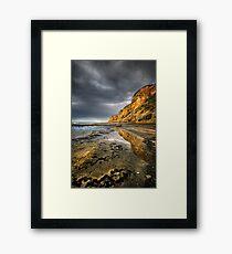 Cliff Reflection Framed Print