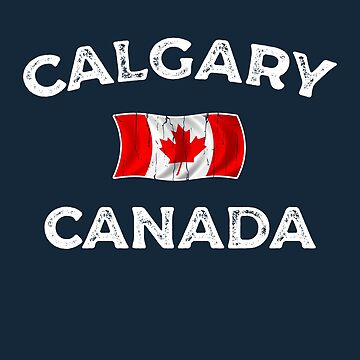Calgary Canada Waving Canadian flag by dk80