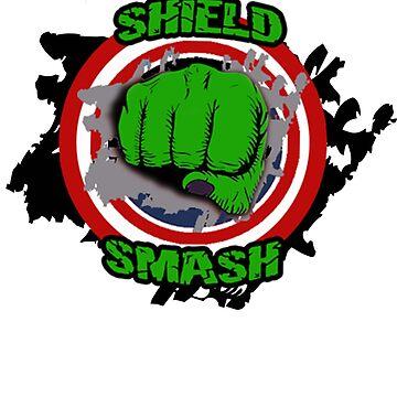 Incredible Shield Smash ShieldBreaker Fist Punch by Gestvlt