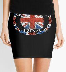 Great Britain Its In My DNA - Great Britain BritItsh Flag In Thumbprint Mini Skirt