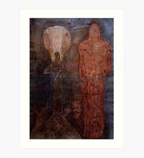 Two Christs Art Print