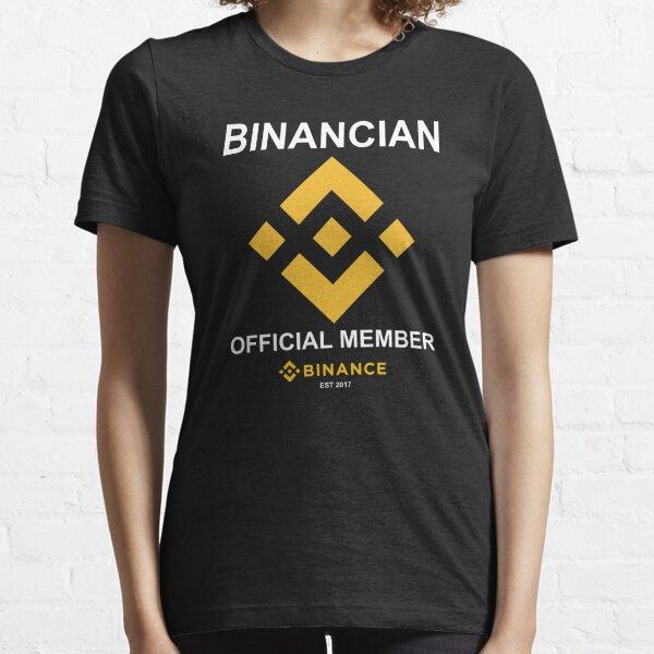 Binance Exchange The Binancian  Essential T-Shirt