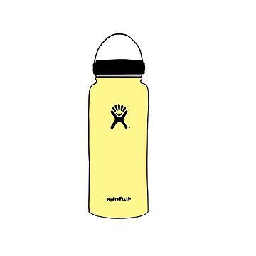 hidroflask amarillo de gretalohse