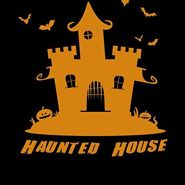 Haunted House Halloween by TomGiantDesigns