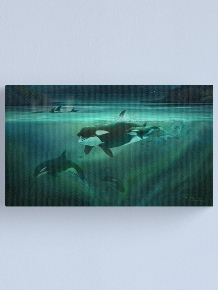Alternate view of Call of the Matriarch Canvas Print