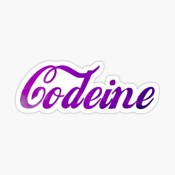 Codeine Lean Cola Sticker