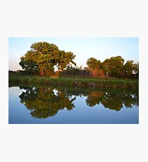 Reflections at Sunset Photographic Print
