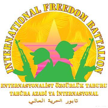 YPG - YPJ - PKK - International Freedom Battalion - Aesthetic - Kurdistan by real-leftorium