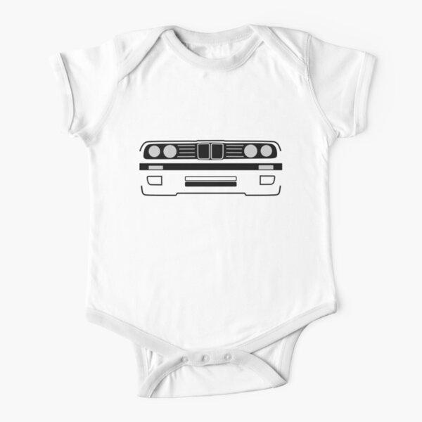 e30 Shadowline Short Sleeve Baby One-Piece