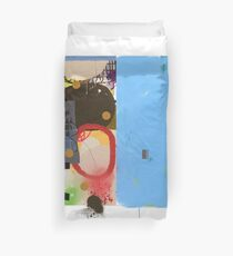 Abstract talk 003 Duvet Cover