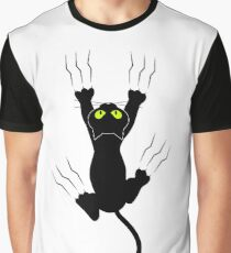 Black Cat Graphic T-Shirt