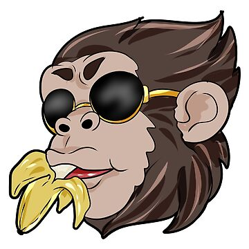 cool ape banana by Moonpie90