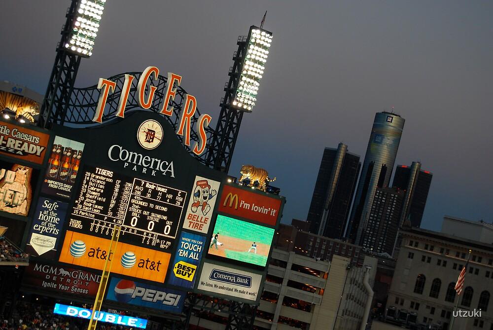Comerica Park / Summer Home Baseball Tigers / Detroit, Michigan by utzuki
