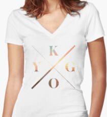 KYGO - Ocean Women's Fitted V-Neck T-Shirt