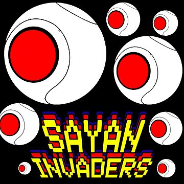 Dragon Ball - Sayan Invaders Attack Balls by APerspective