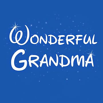 Wonderful Grandma - Grandma Shirt by thevoice123