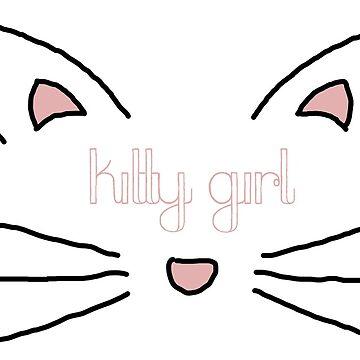 kitty girl by scrambledtofu
