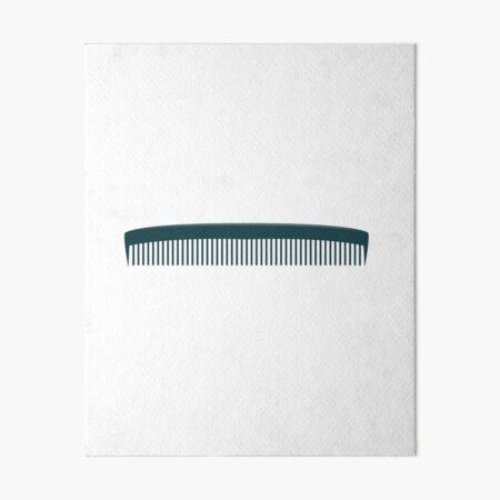 Comb Art Board Print