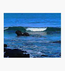 The Force of the Ocean Photographic Print