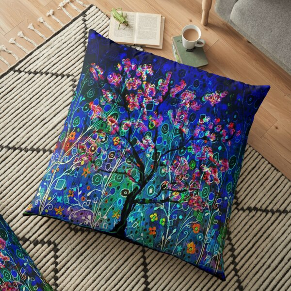 Night Spring Floor Pillow