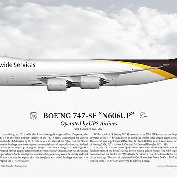 Boeing 747-8F - UPS Airlines by nothinguntried