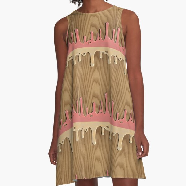 Melting A-Line Dress