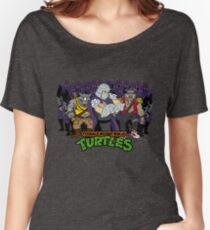 TMNT - Foot Soldiers 02 with Shredder, Bebop & Rocksteady - Teenage Mutant Ninja Turtles Women's Relaxed Fit T-Shirt